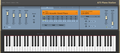 Full virtual piano image - color: A73 blue